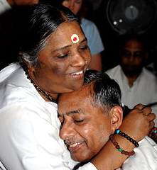 Friday Feel Good: Amma the Hugging Saint Goes to NYC