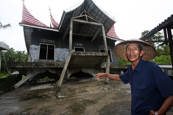 Front Page: Indonesia Hit Hard By Second Quake