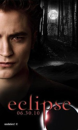 Eclipse Poster with Edward Cullen / Robert Pattinson