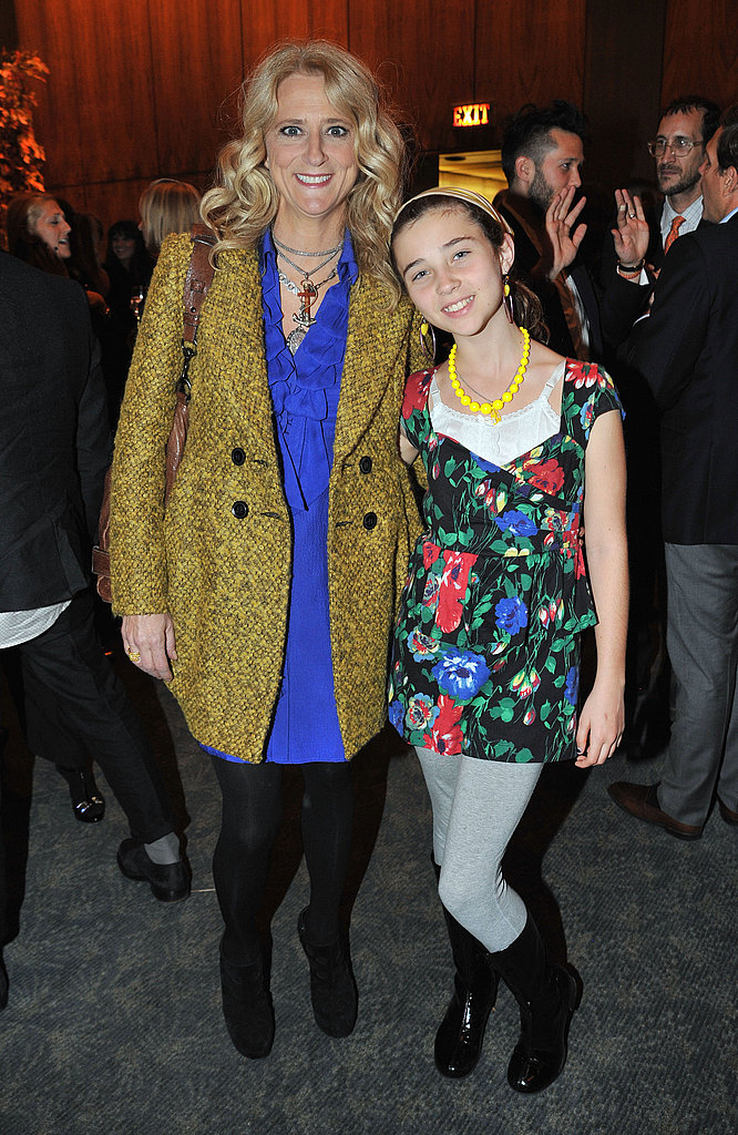 Nanette Lepore with her daughter