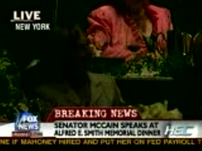 John McCain @ Al Smith Dinner
