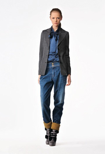 See by Chloé Mixes Seventies Prints with Workwear Basics for Pre-Fall 2010