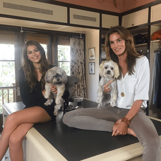 Cindy Crawford's Look-Alike Daughter, Kaia, Picture