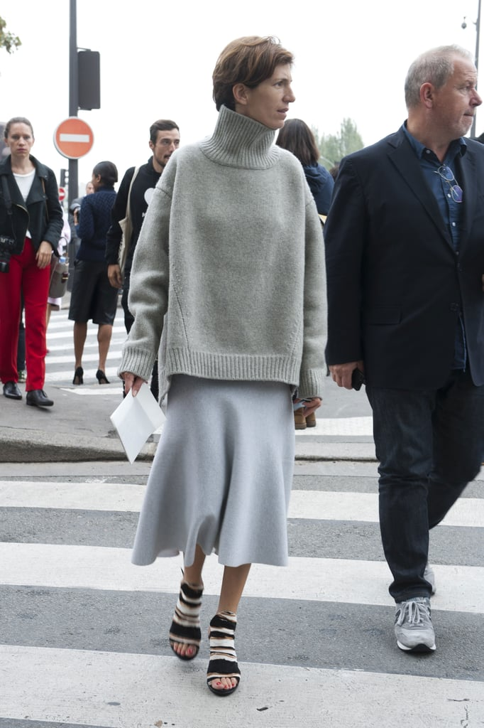Every girl needs a great slouchy sweater like this in her closet for Fall.