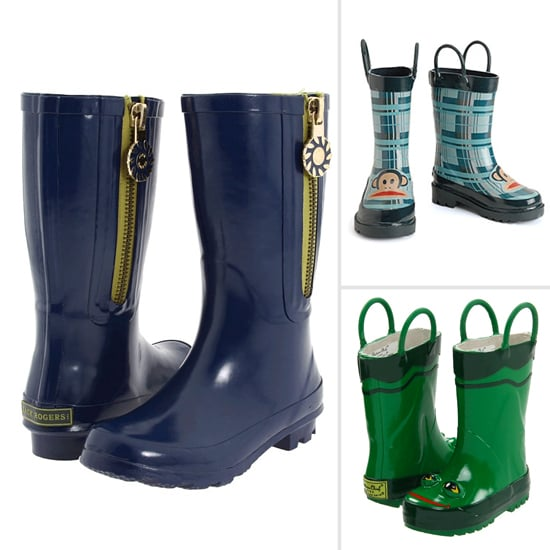 10 Puddle-Proof Rain Boots For Boys