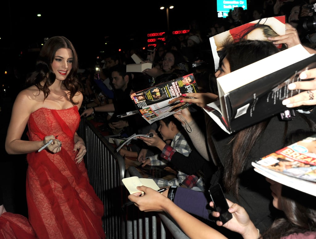 See All the Stars Arriving at the Breaking Dawn Premiere!