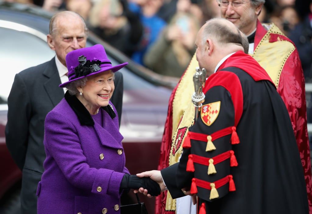On Thursday, Queen Elizabeth and Prince William, who celebrated 66 years of marriage this week paid a visit to Southwark Cathedral.