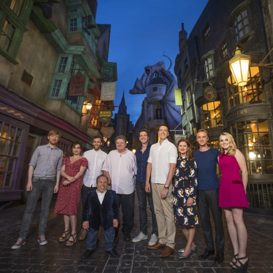 We Talk Alternate Endings With the Stars of Harry Potter in Diagon Alley