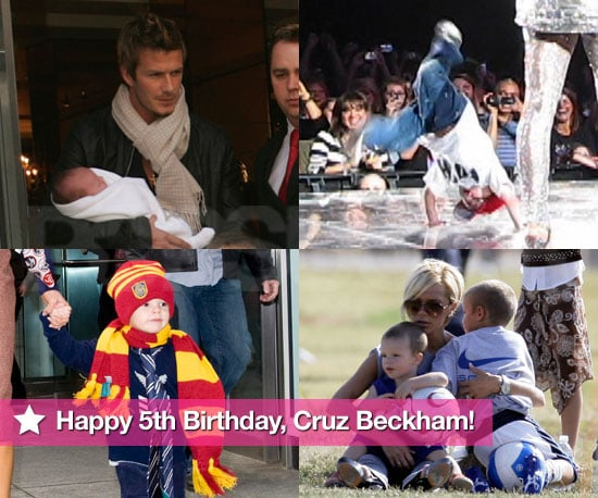 Slideshow of Photos of Cruz Beckham's 5th Birthday