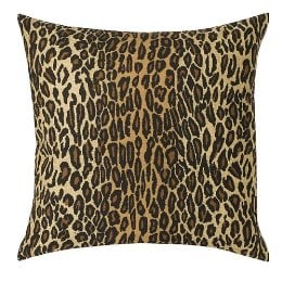 Leopard Square Pillow ($24.99)