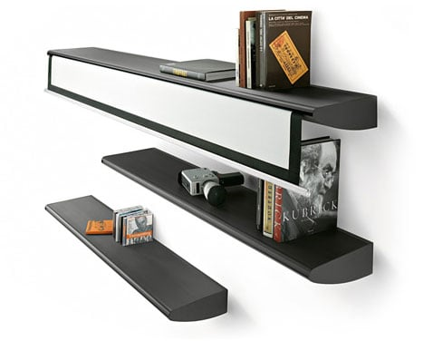 Bookshelf With Home Theater: Love It Or Leave It?