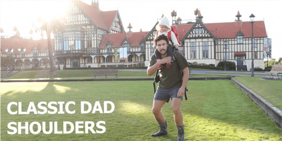 Dad Offers 10 Ways To Travel With A Baby In Comical How-To Video