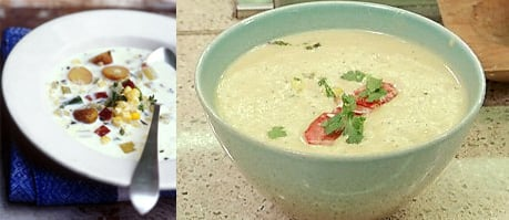 Corn Chowder Two Ways - Beginner & Expert
