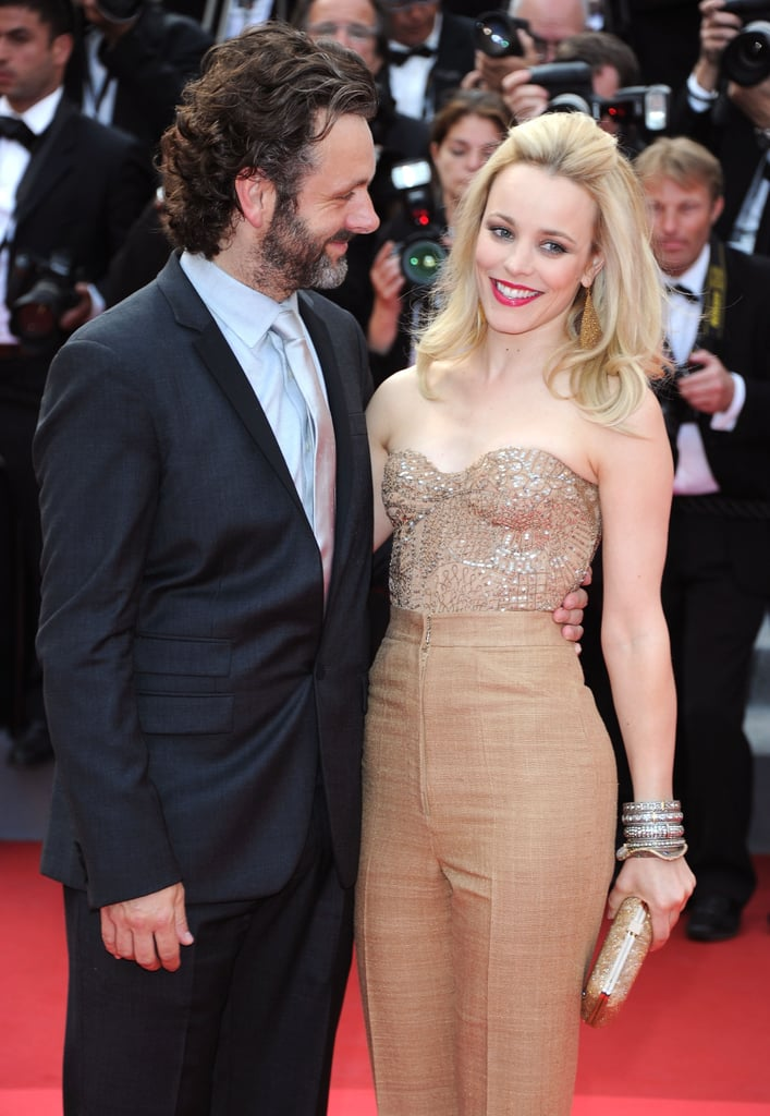 Michael Sheen and Rachel McAdams in 2011