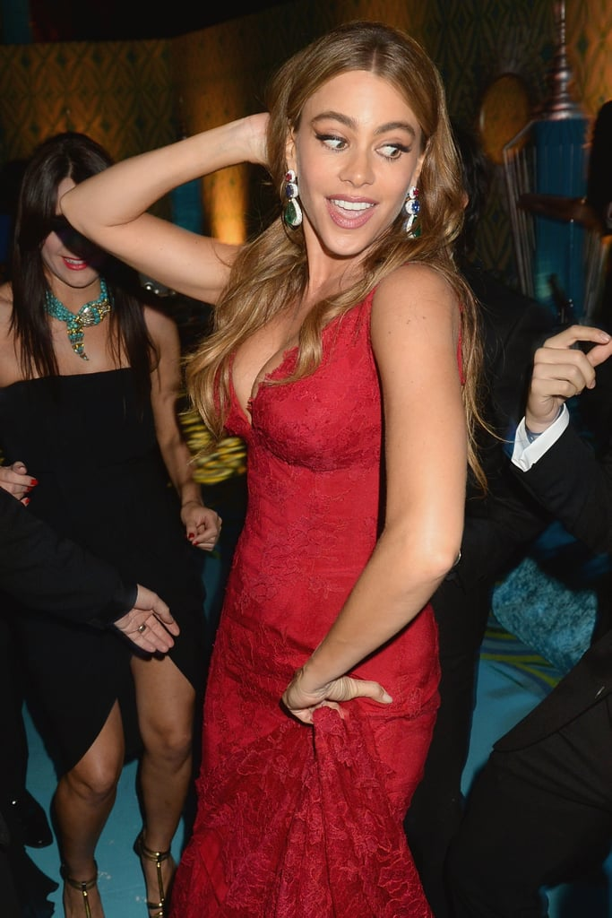 Sofia Vergara showed off her dance moves during the HBO Emmys afterparty.
