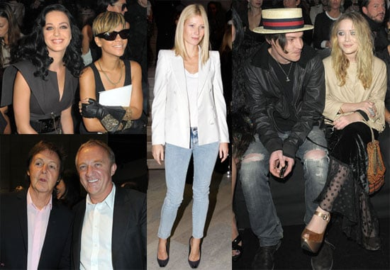 Photos of Rihanna, Katy Perry, Gwyneth Paltrow, and Mary-Kate Olsen at Paris Fashion Week 2009-10-05 08:51:34