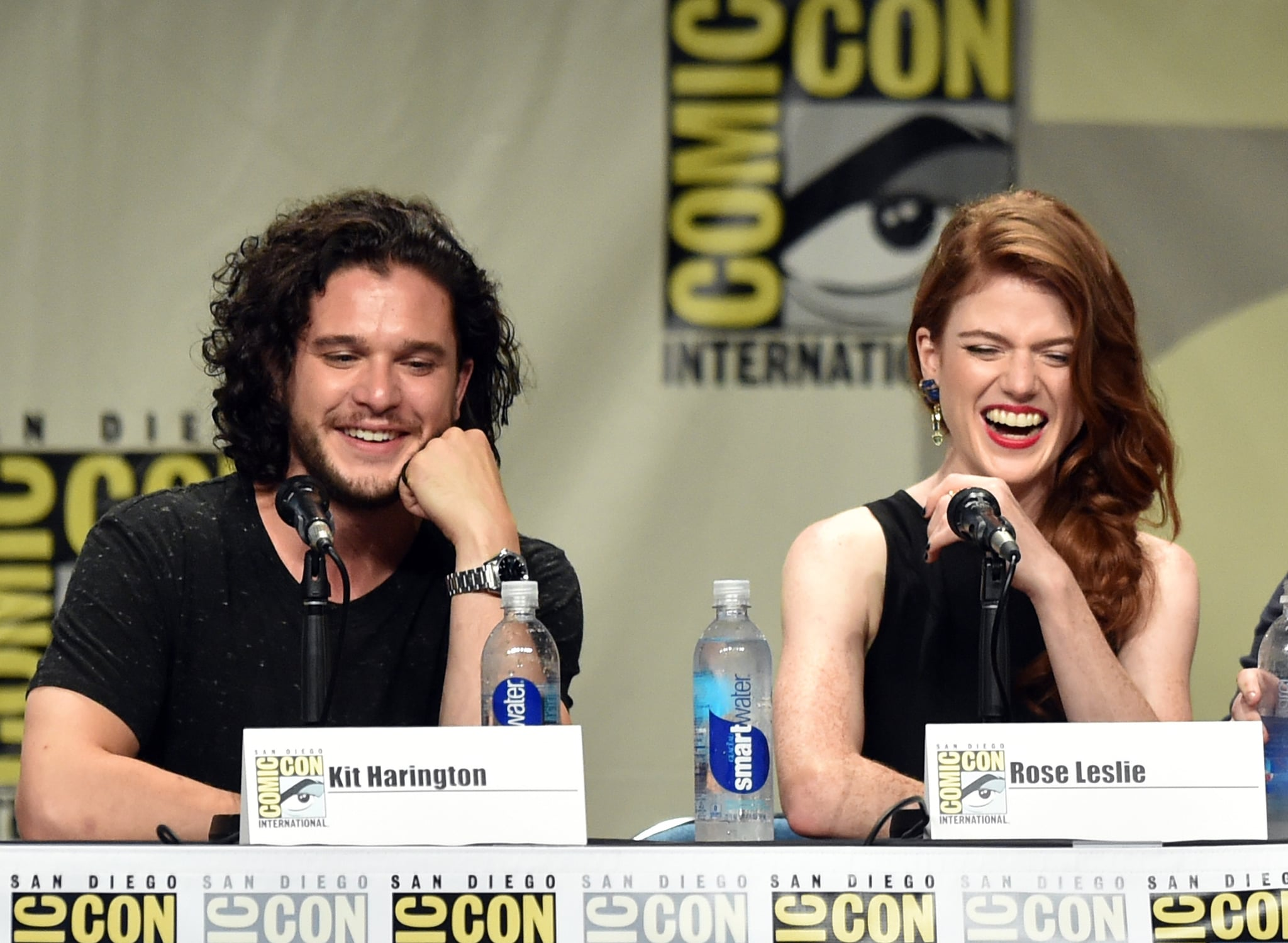The Guys From Game of Thrones Unleash Their Cuteness at Comic-Con