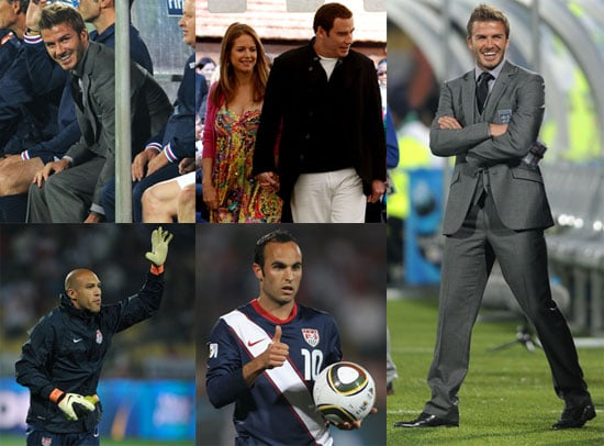 Pictures of David Beckham, Landon Donovan, Tim Howard And More at The 2010 World Cup 2010-06-14 20:00:00