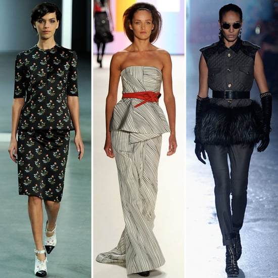 Best Peplum Pieces For Fall 2012