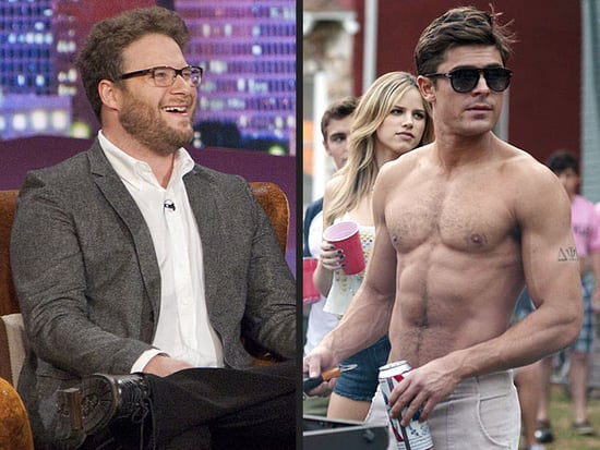 Seth Rogen Explains Why He's Mean to Zac Efron: 'He's So Handsome!'