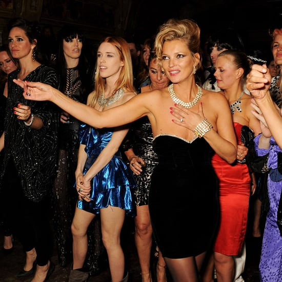 Kate Moss at an '80s Theme Party | Pictures