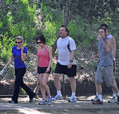 Kristen Bell, Dax Shepard and Tom Arnold Out in LA