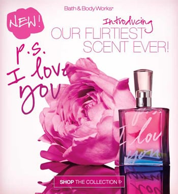 Bath & Body Works Introduces Its Flirtiest Scent Ever!