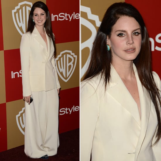 Lana Del Rey Golden Globes Party Fashion 2013