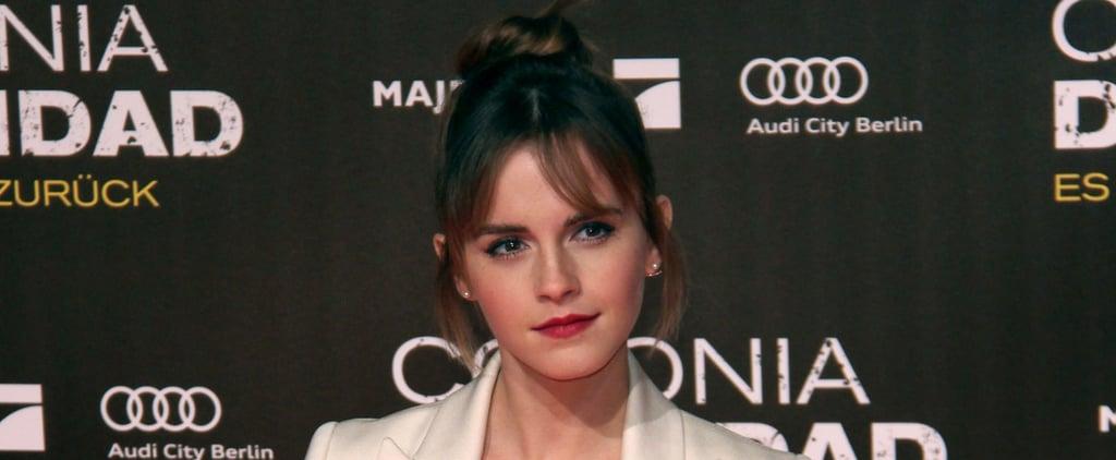 Emma Watson Is a Walking, Talking Vision of Heavenly Joy at Her Berlin Premiere