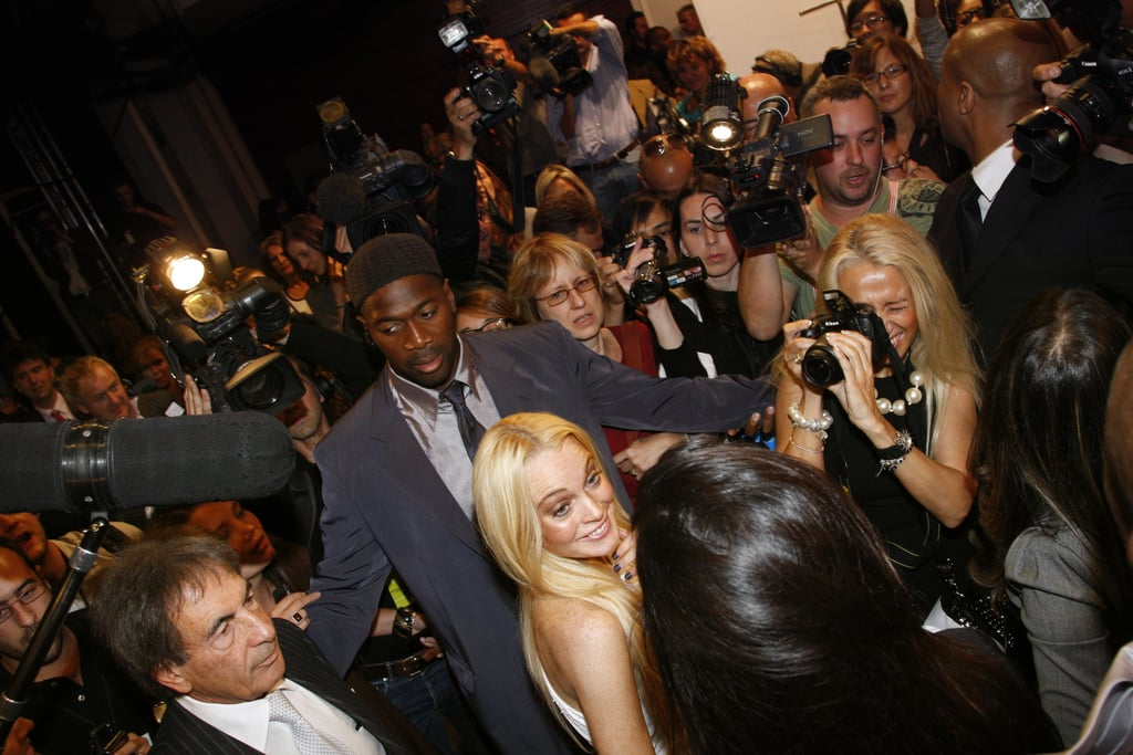 Lindsay Lohan and Estrella Archs's First Emanuel Ungaro Collection for Spring 2010: The Reviews Are In (And Not Pretty)