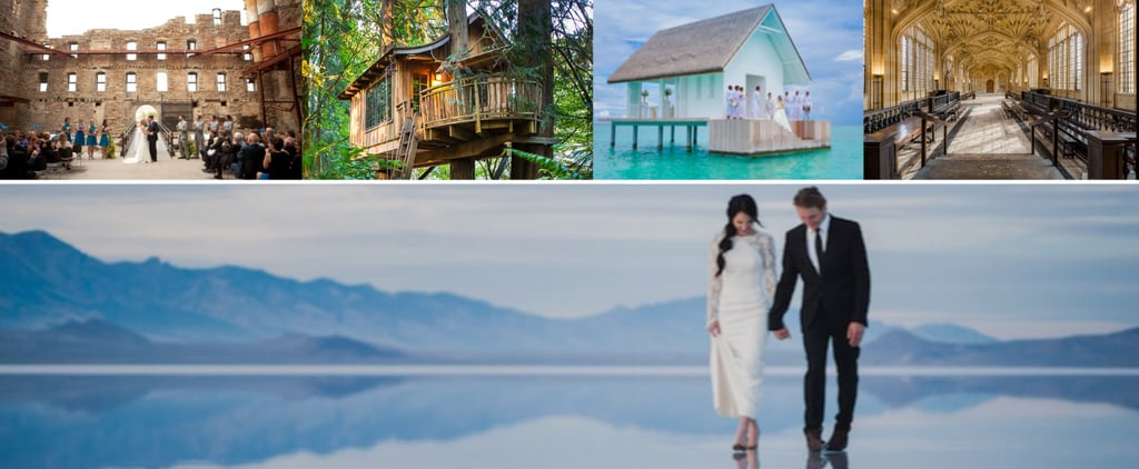 These Awe-Inspiring Wedding Venues Will Make You Believe in Fairy Tales