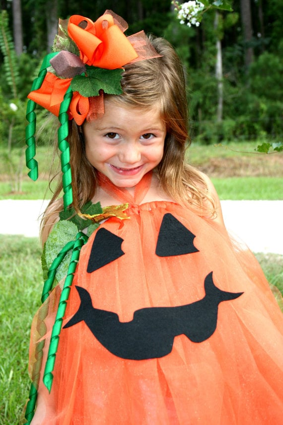Pumpkin 31 halloween costumes you can make out of a tutu - Hacer disfraz de calabaza ...
