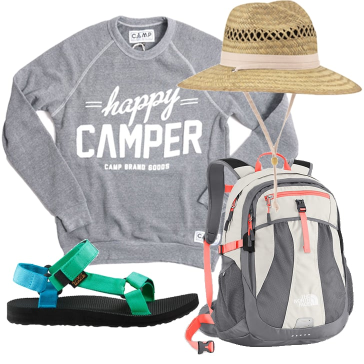 Cute Clothes For Camping | Summer 2014 | POPSUGAR Fitness