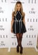 At Elle's Women in Televsion celebration in January 2014, Laverne kept her color palette classic with a spot-on fit-and-flare dress.