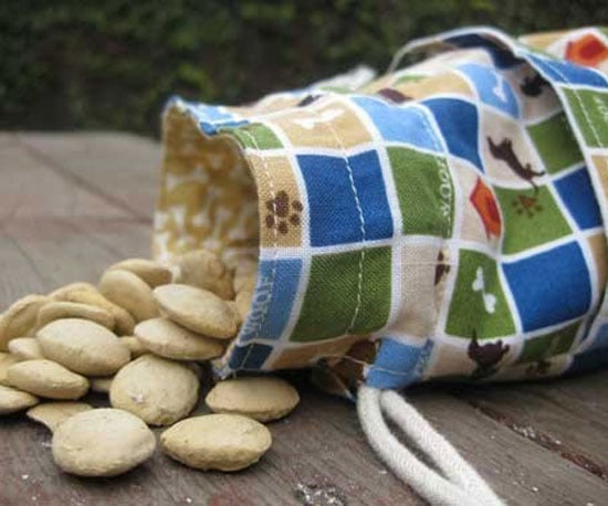 Dachshund Squares Treat Bag