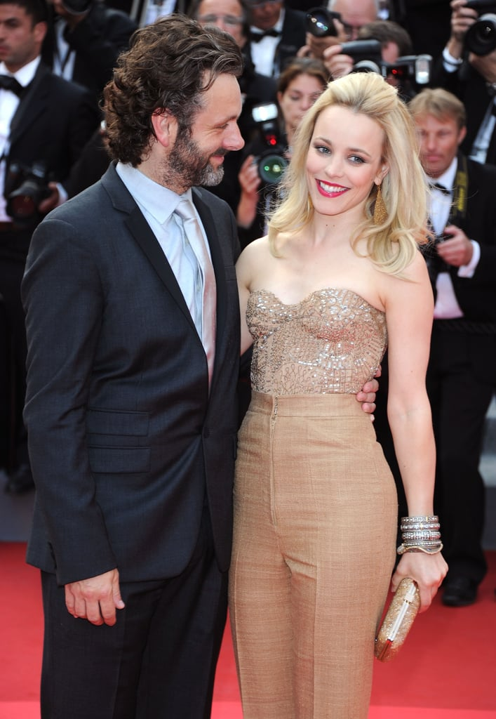 Rachel posed alongside then-new love Michael Sheen at the Cannes Film Festival premiere of Sleeping Beauty in 2011.