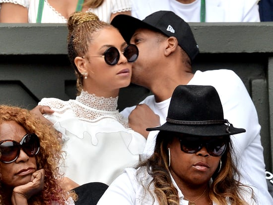 Beyoncé and Jay Z Lead the Star-Studded Pack to Watch Serena Williams Get a Major Wimbledon Milestone