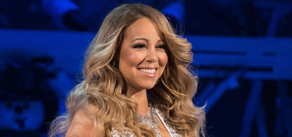 Mariah Carey Transforms Into a Human Snowflake at Her Holiday Concert