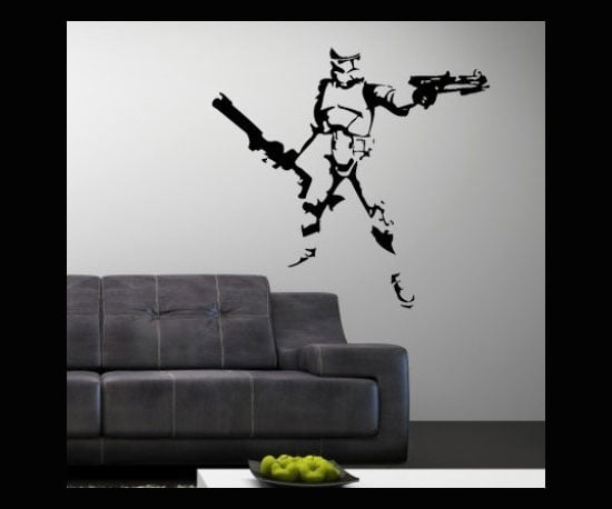 Storm Trooper Wall Decal ($33)