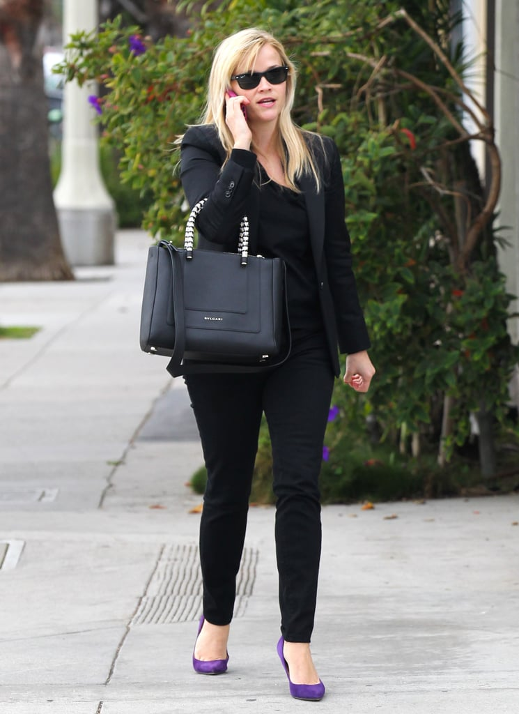 Reese Witherspoon headed into a store for some shopping in LA.
