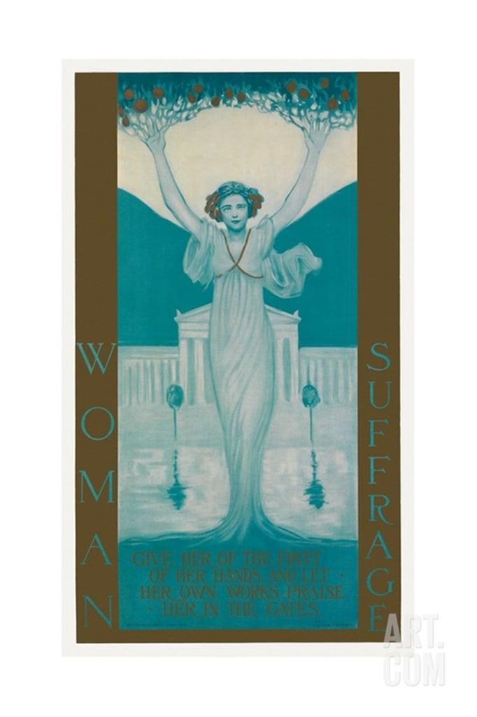 Women's Suffrage Poster