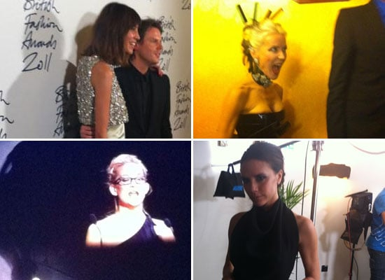 Pictures of Celebrities at the 2011 British Fashion Awards Via Twitter: Alexa Chung, Olivia Palermo, Victoria Beckham & more