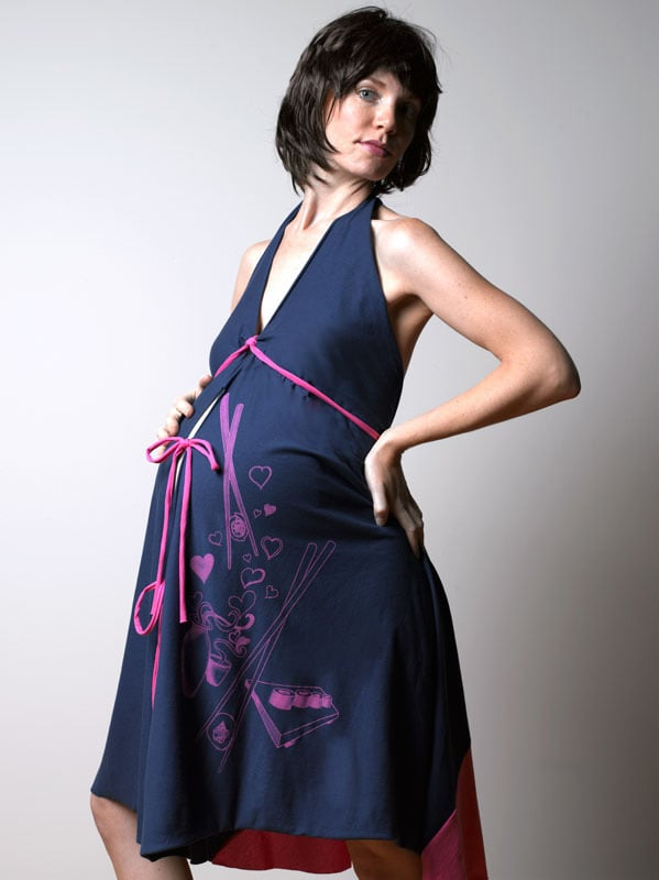 I Dream of Sushi Labor & Delivery Gown ($28)