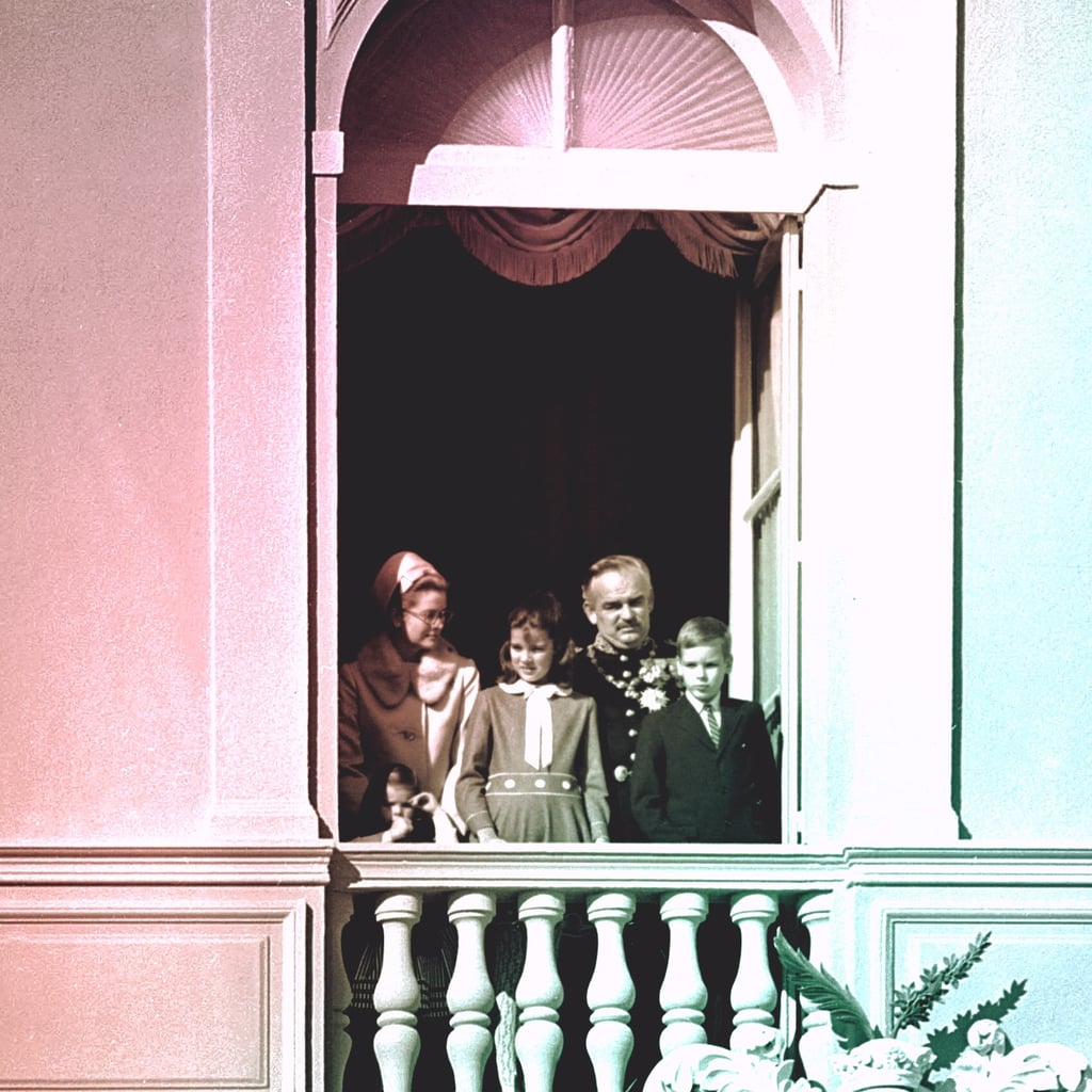 With Her Family in Monte Carlo in 1968