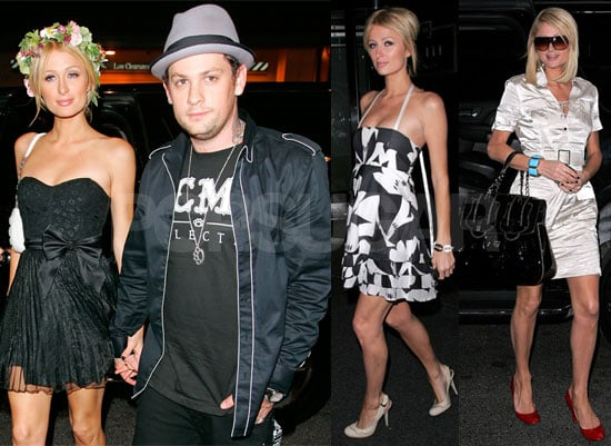 Photos of Paris Hilton and Benji Madden in NYC