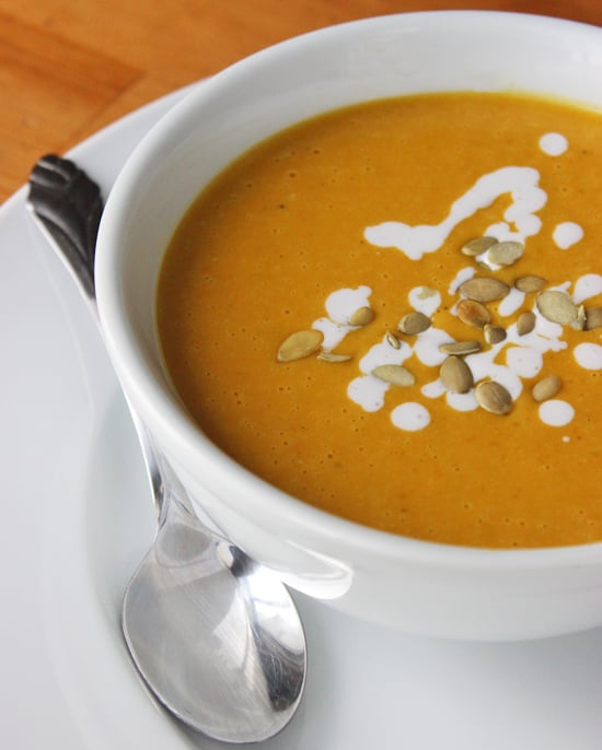 Lunch and Dinner: Pumpkin Bisque