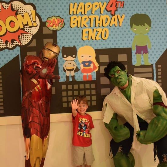 Superhero-Themed Birthday Party Ideas