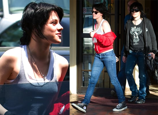 Photos Of Joan Jett and Kristen Stewart For New Movie The Runaways, Michael Shannon Joining The Cast?