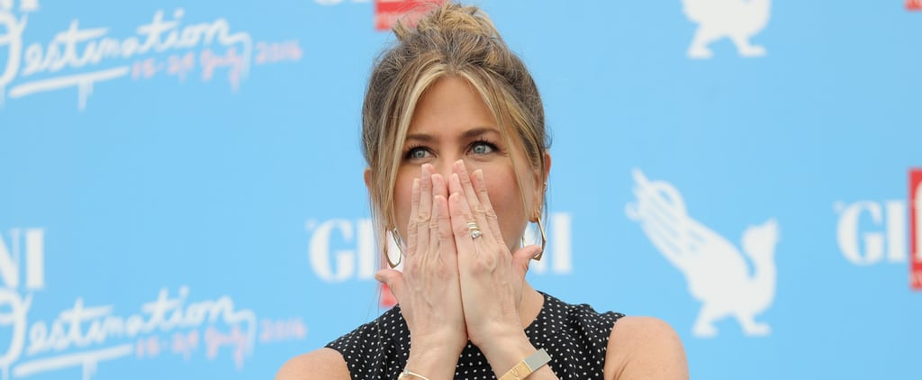 Jennifer Aniston Is Overcome With Emotion While Being Honoured at the Giffoni Film Festival
