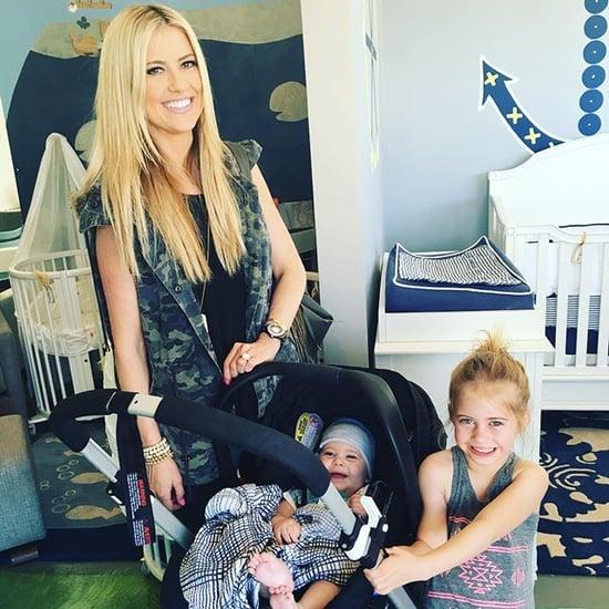 Nicole curtis s pregnancy announcement popsugar home